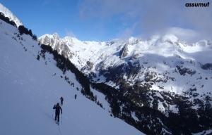 Ascensión al Pico del Alba.