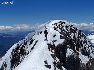 Arista entre las dos cumbres