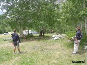 Prácticas en el camping