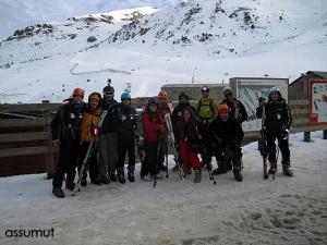 Preparados para esquiar