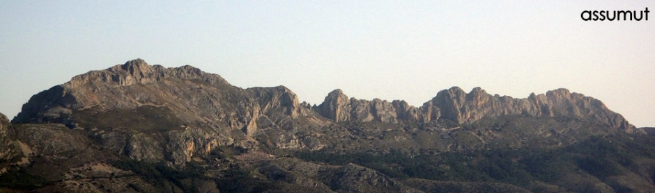 Bernia desde el Ponoig