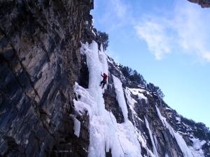 Más cascadas en Cerviers