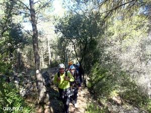 De camino a la Olmo-Urquiza
