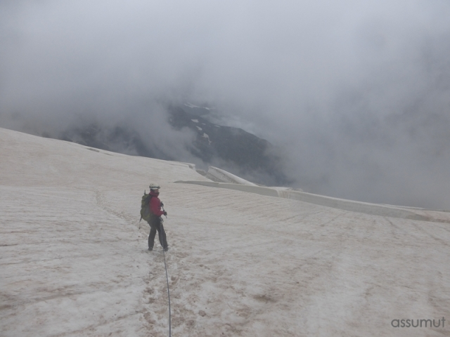 Descenso del glaciar