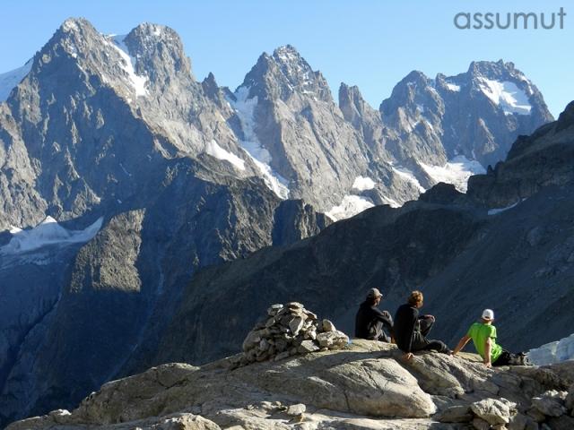 Campo base Glaciar Blanc